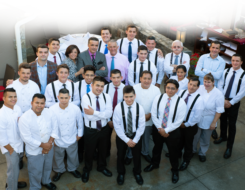 Rracis Italian Restaurant Staff Brewster NY and Danbury CT