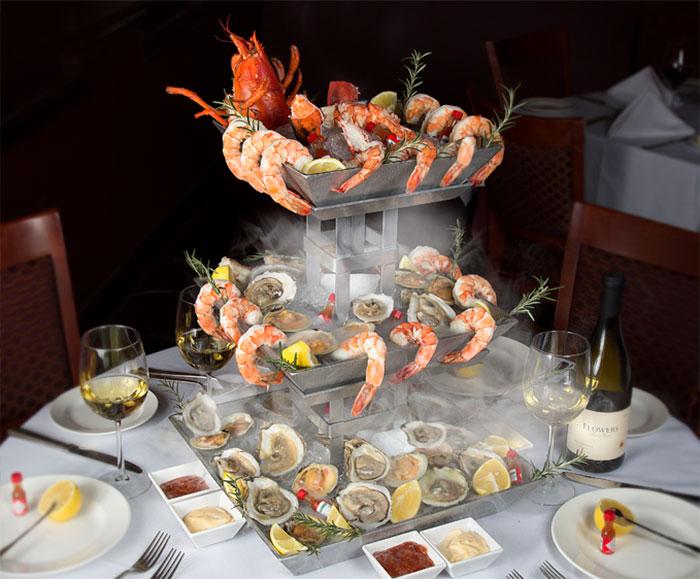 rracis resteraunt menu seafoodtower