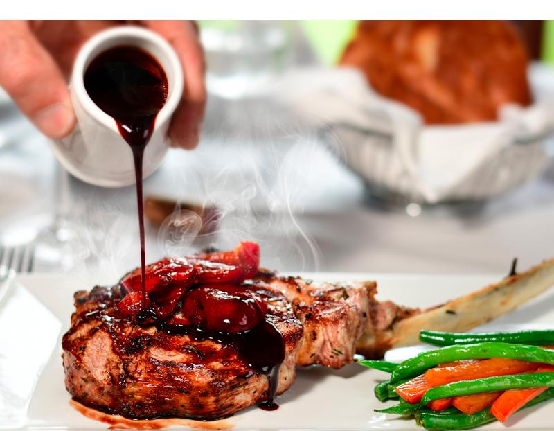 Rraci's Restaurant Veal Chop